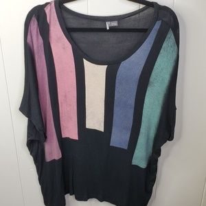 UO Sparkle & Fade Lightweight Top Size Small